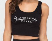 My Heart Beats to Andrew Rayel Female Tank Top