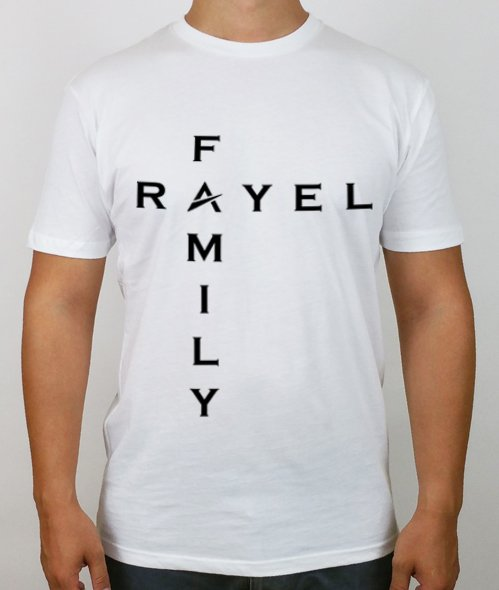 Rayel Family Male T Shirt White