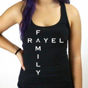 Rayel Family Female Tank Top