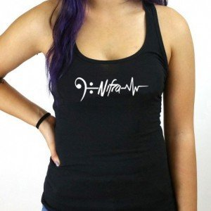 My Heart Beats to Nifra Female Tank Top