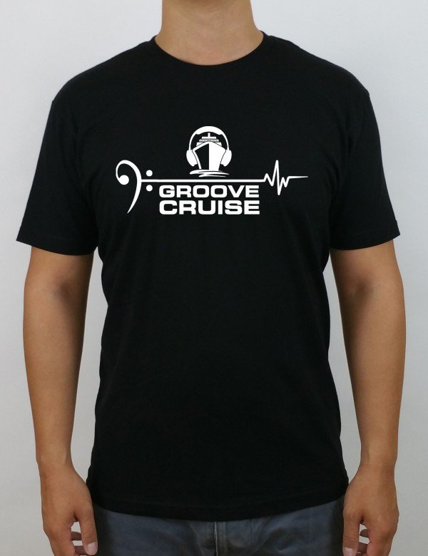 Groove Cruise x Neon Owl Male T Shirt