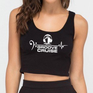 Groove Cruise x Neon Owl Female Crop Top