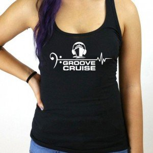 Groove Cruise x Neon Owl Female Tank Top
