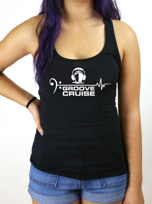 Groove Cruise x Neon Owl Female Tank Top