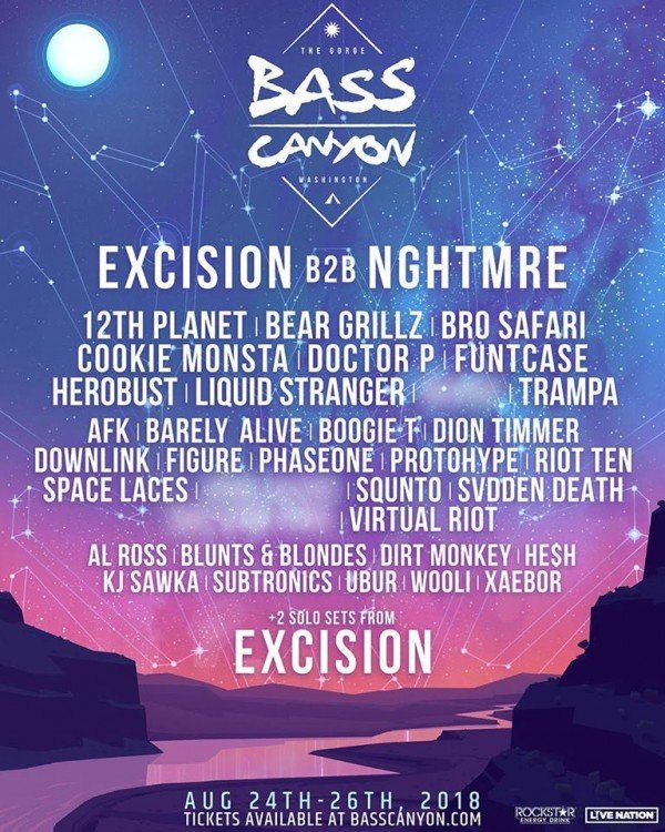 Bass Canyon Music Festival - Neon Owl