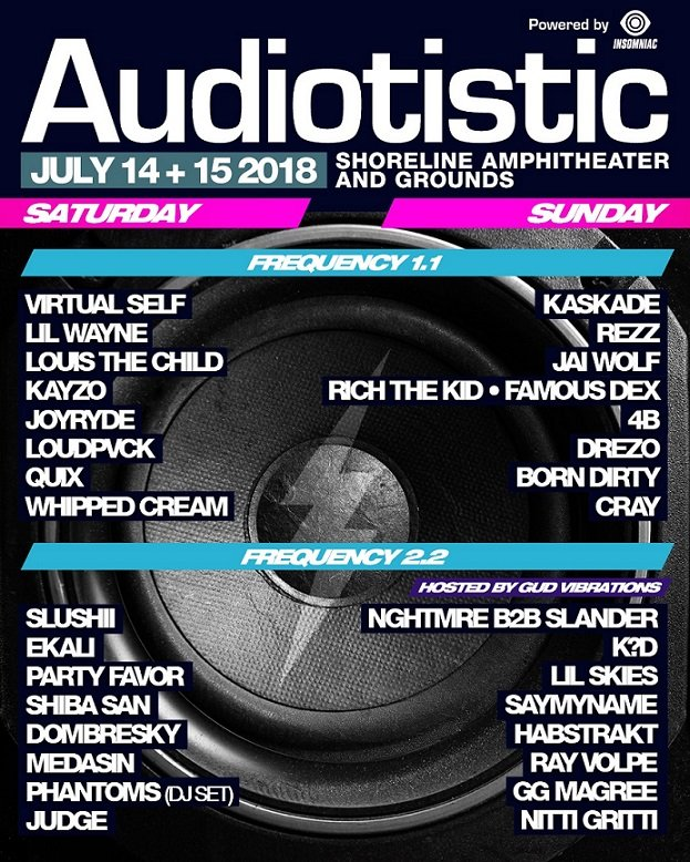 Audiotistic Bay Area Line Up - Neon Owl