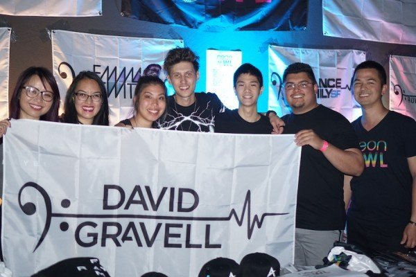 David Gravell ETD Love - Neon Owl