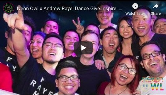 Neon Owl x Andrew Rayel Dance Give Inspire Charity