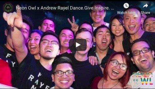 Neon Owl x Andrew Rayel Dance Give Inspire Charity