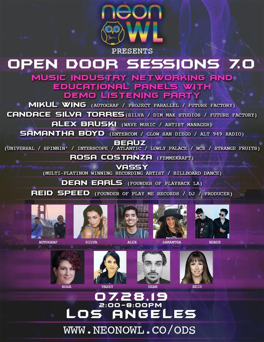 Open Door Sessions ODS 7 LA - Neon Owl
