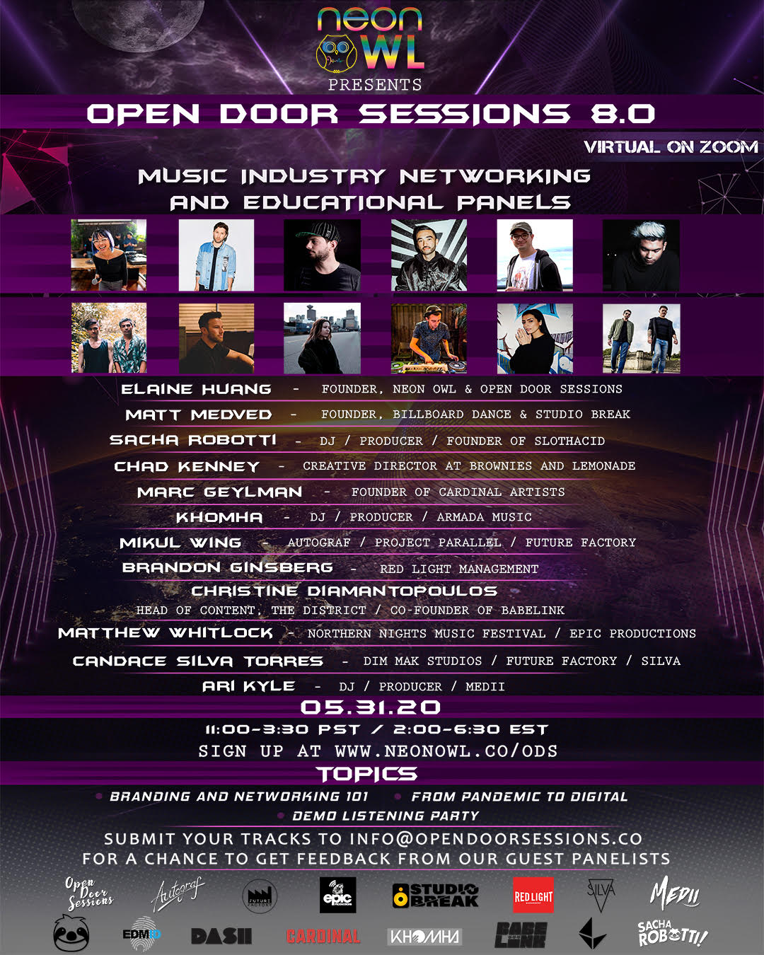 Open Door Sessions 8.0 ODS Round 2 - Neon Owl