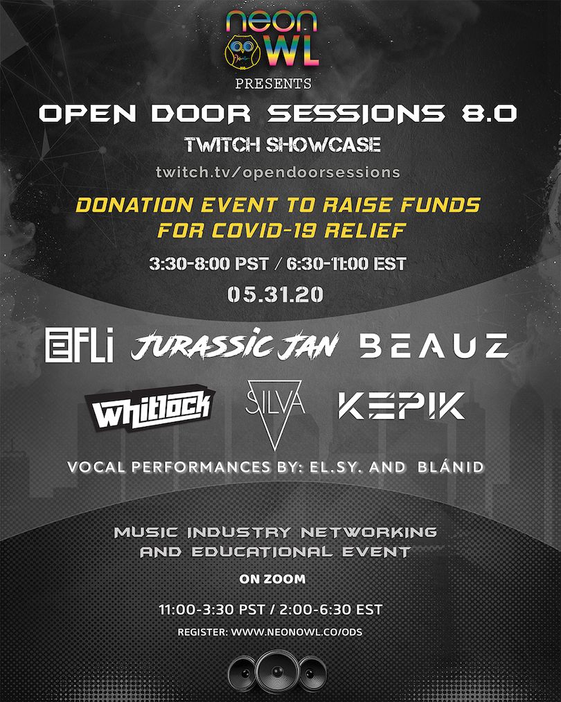Twitch Showcase Open Door Sessions 8.0 - Neon Owl