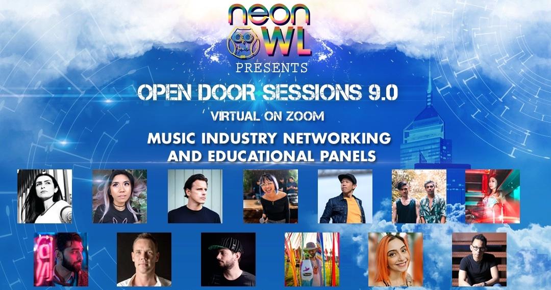 Neon Owl Open Door Sessions 9 ODS 9 banner