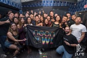 Pure Lounge Nov 18 2016 Mat Zo Neon Owl-2457